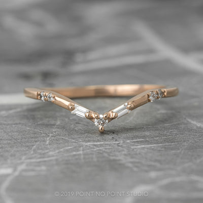 Baguette Diamond V Band