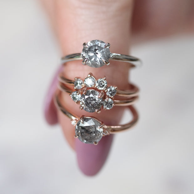 Salt & Pepper Diamond