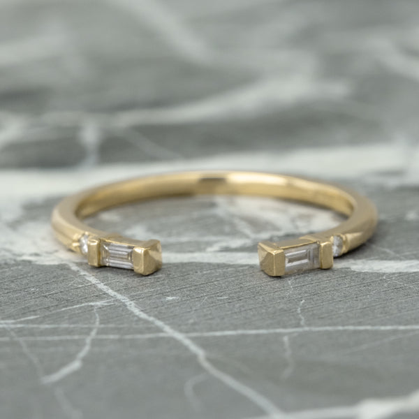 Baguette Diamond Wedding Ring