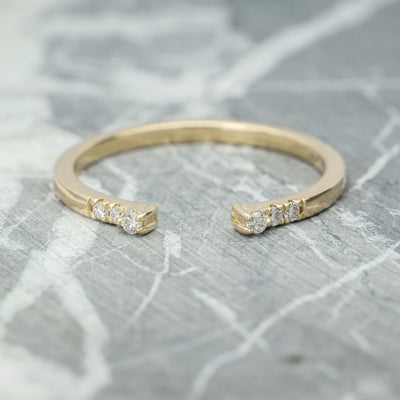 Diamond Wedding Cuff