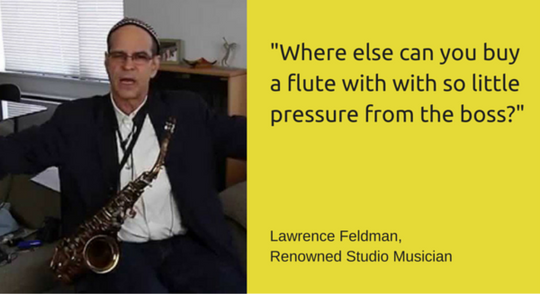 Lawrence Feldman, Renowned Studio Musician