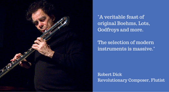 Robert Dick, Revolutionary Composer and Flutist