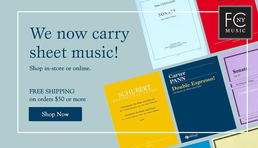 The World's Marketplace for Flutes – Flute Center of New York