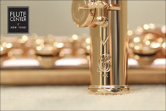 "Brannen Brothers ""Orchestral Model"" in 14K Gold with Gold Keys (Custom-Built Flute)"