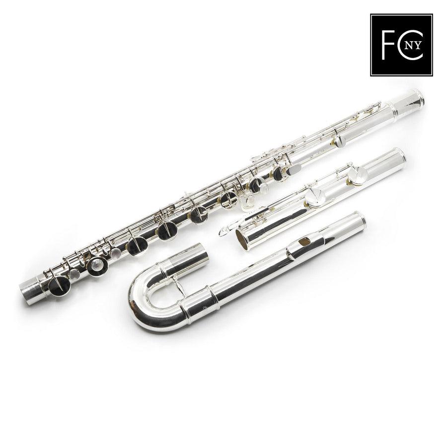 Altus Bass Flute 823 Series - Sterling Silver Lip and Riser