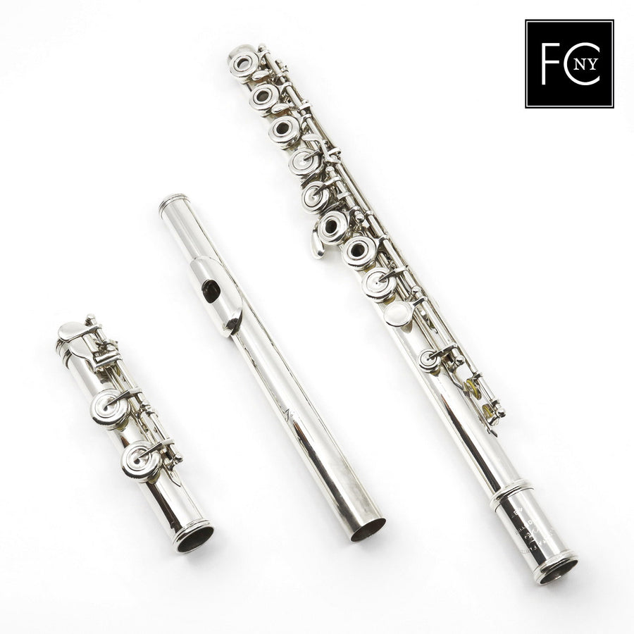 Arista Flute #457 - all silver, offset G, Split E mechanism, C footjoint