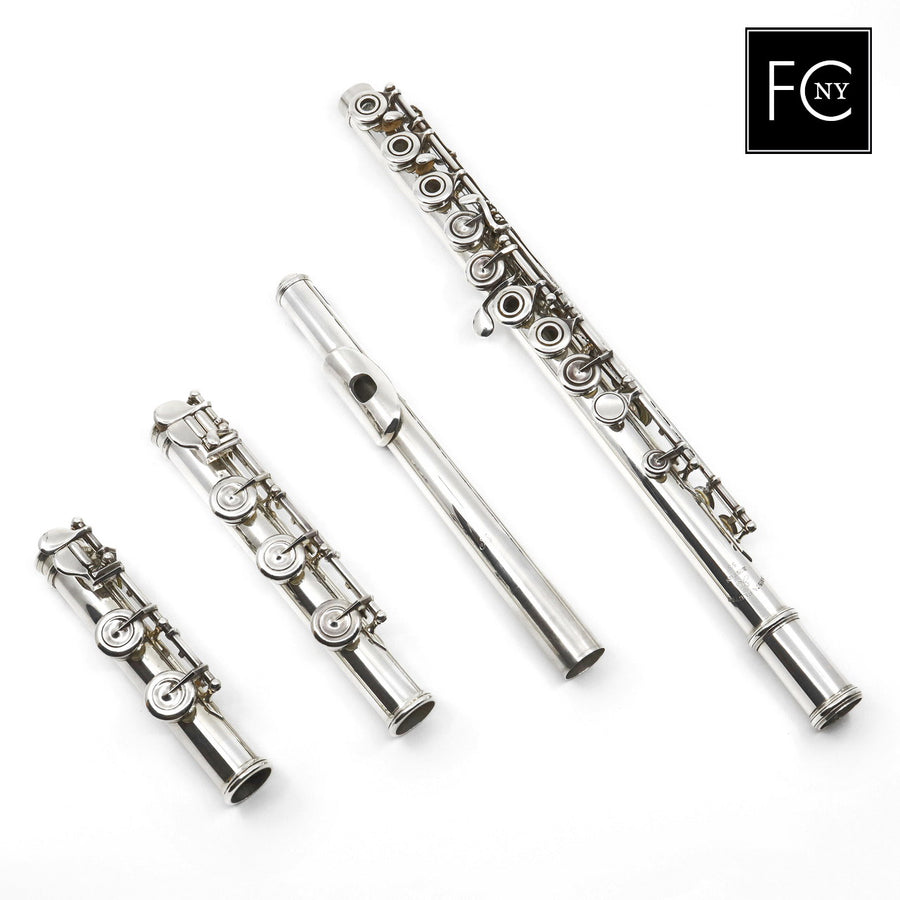 Arista Handmade Flute #53 - Silver Flute, offset G, B and C footjoint