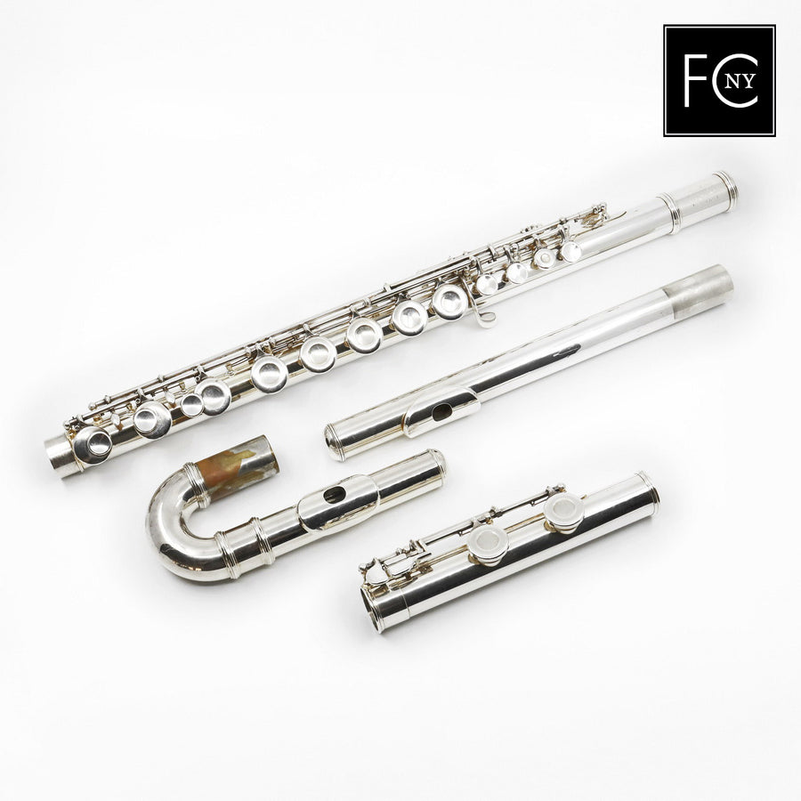 Armstrong Alto Flute #6-5140 - straight and curved headjoint