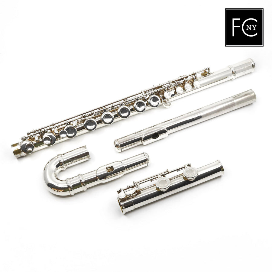Armstrong Alto Flute #7241886 - straight and curved headjoints