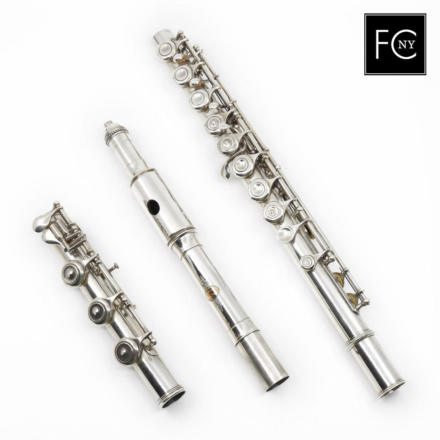 Badger Flute #EH - all silver, inline G, B footjoint