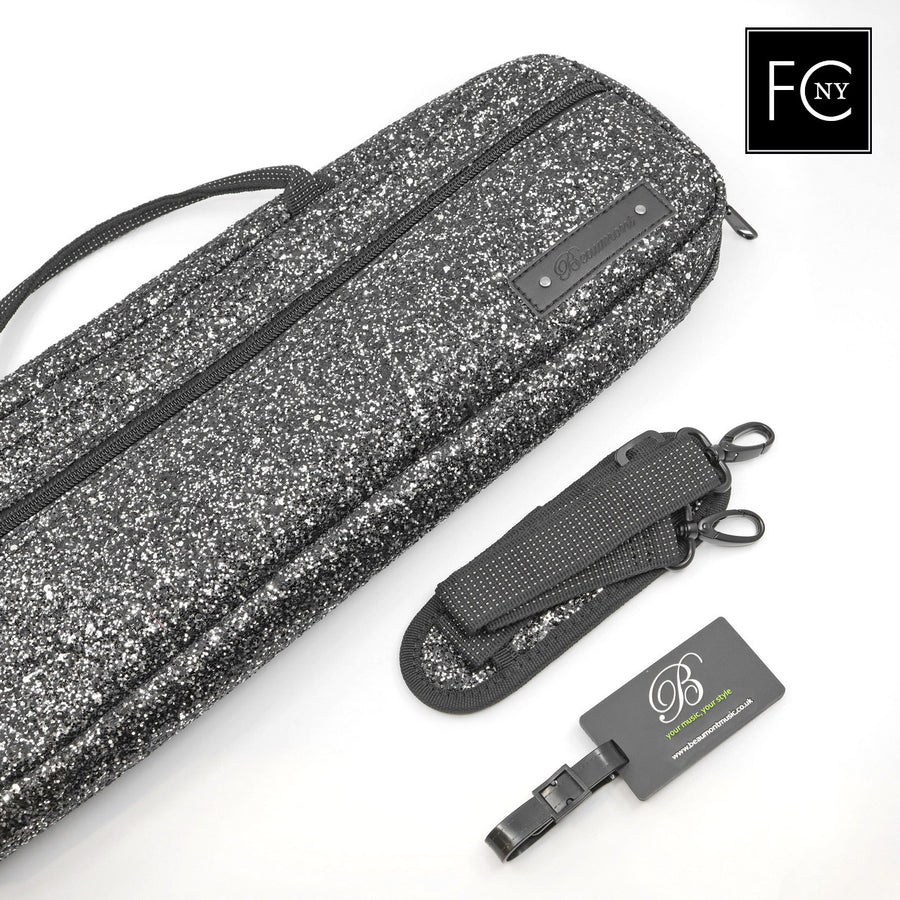 Beaumont Black Sparkle B-Foot Case Cover