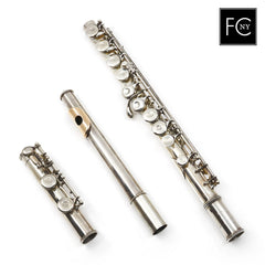 Boehm and Mendler Silver Flute #FCNY2
