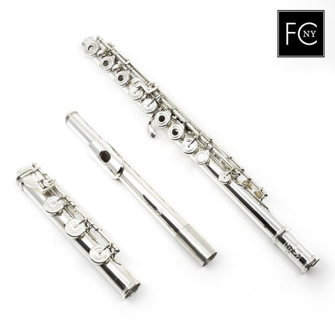 "Brannen Brothers ""Brögger Flute"" in Silver (New)"
