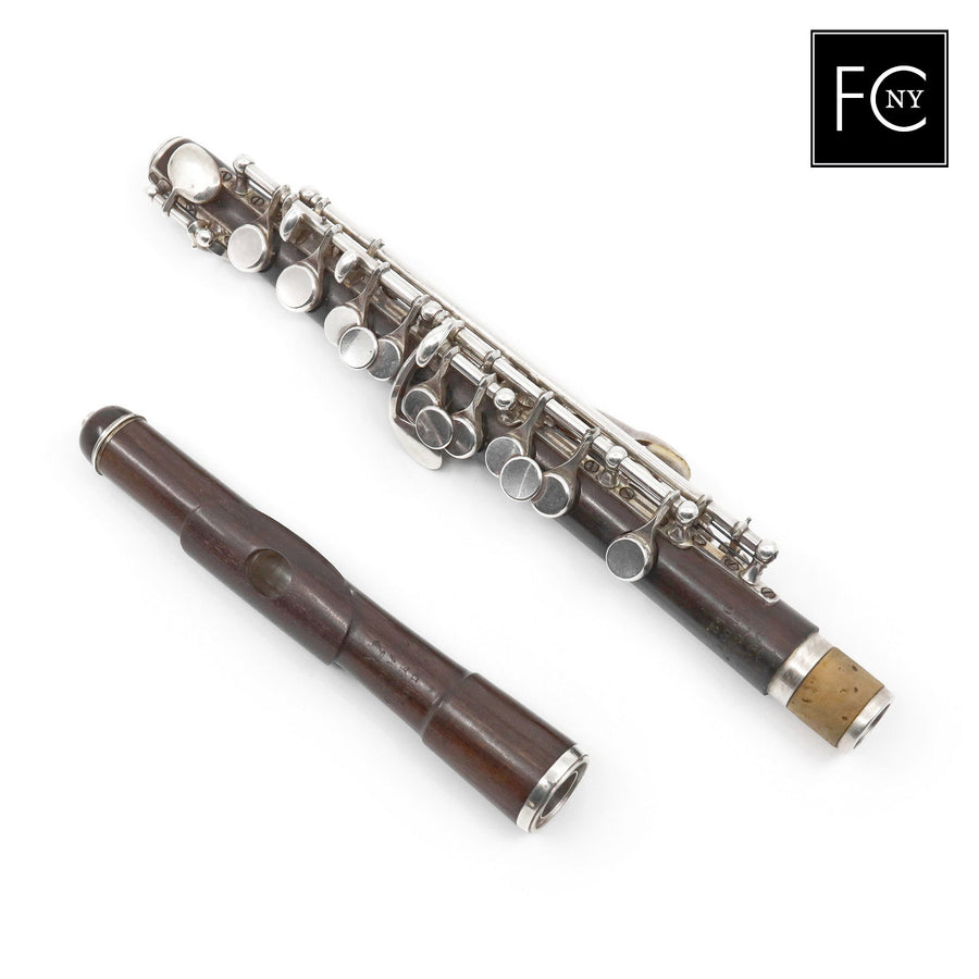 Rudall Carte & Co. Piccolo #9424 - Cocus Wood
