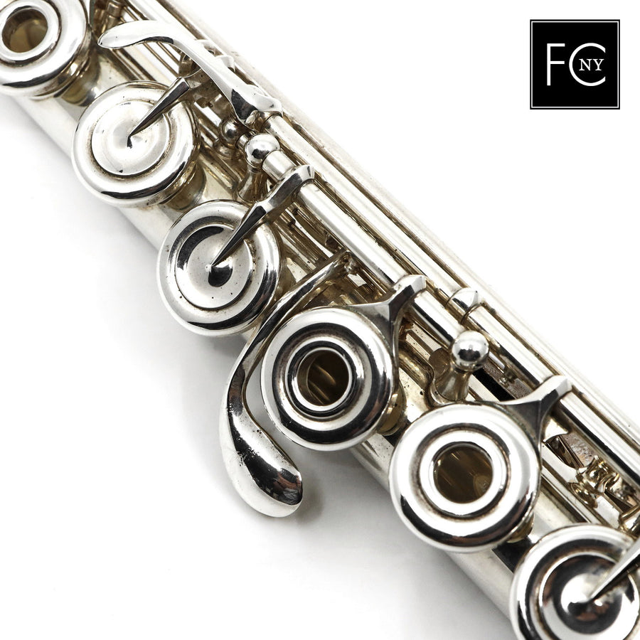 Powell Conservatory #2698 - Silver Flute, offset G, B footjoint