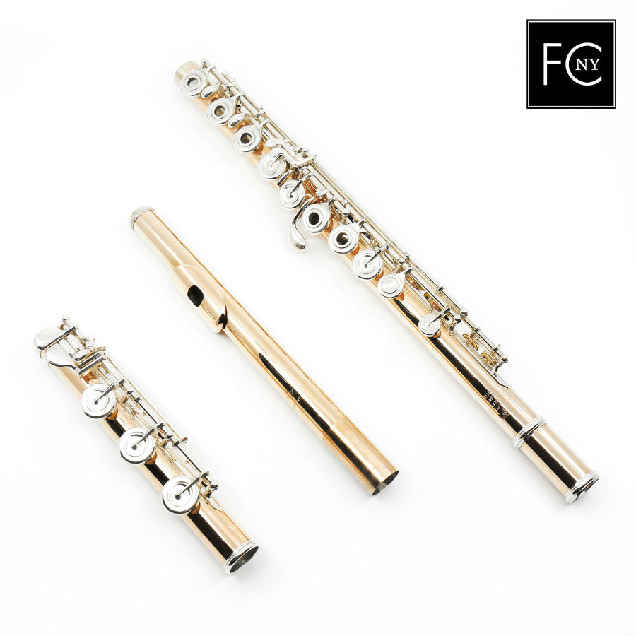Powell Conservatory Flute in 9K Aurumite (New)