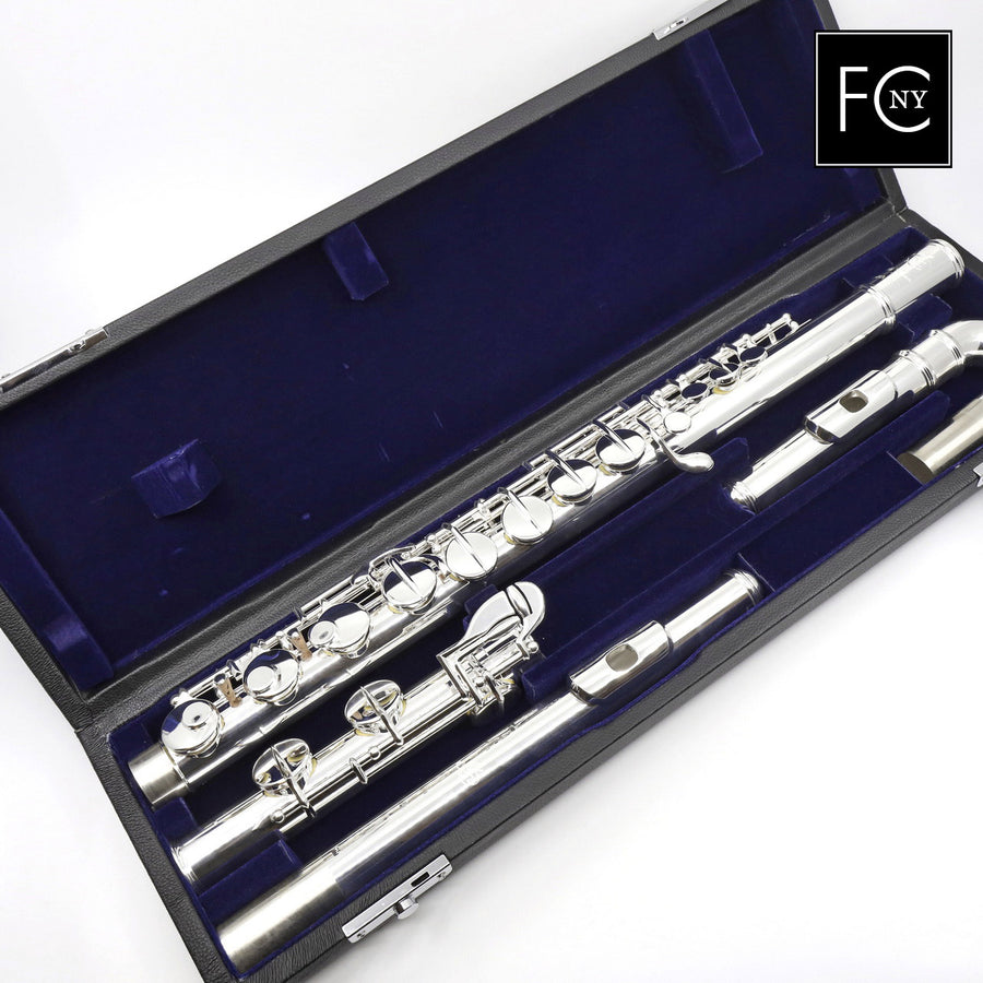 Di Zhao Alto Flute Model DZA-200 - Silver-Plated Curved Headjoint with Silver Straight Headjoint and Body (New)
