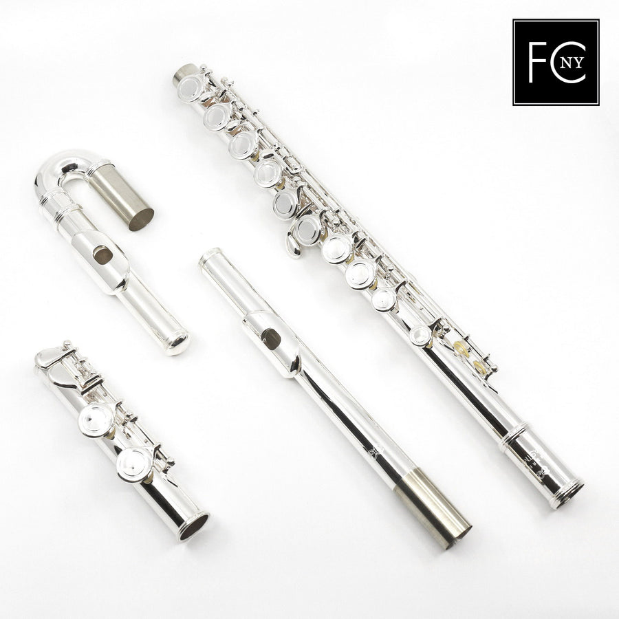 Eastman Student Flute Model EFL210-CS - Curved and Straight Headjoints