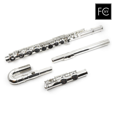 Gemeinhardt Alto Flute 11ASH - Silver Headjoint, Plated Body and Keys (New)