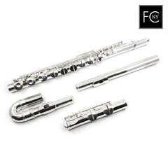 Gemeinhardt Alto Flute 11AS - Silver Headjoint and Body, Plated Keys