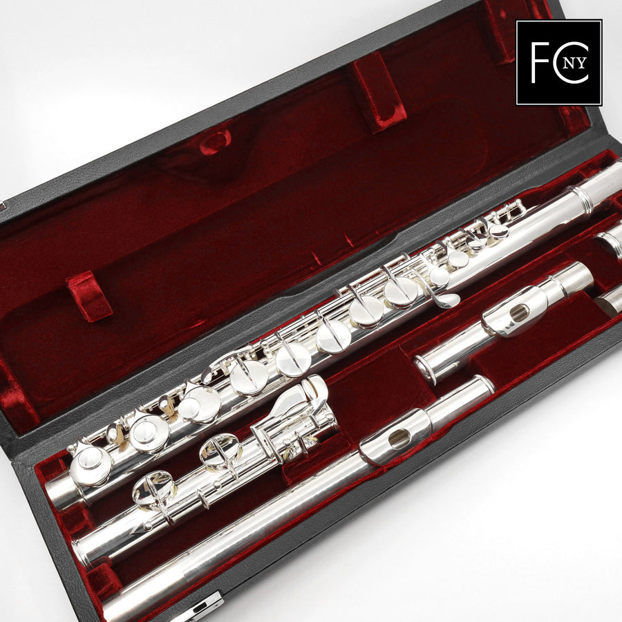 Gemeinhardt Alto Flute 11AS - Silver Headjoint and Body, Plated Keys (New)