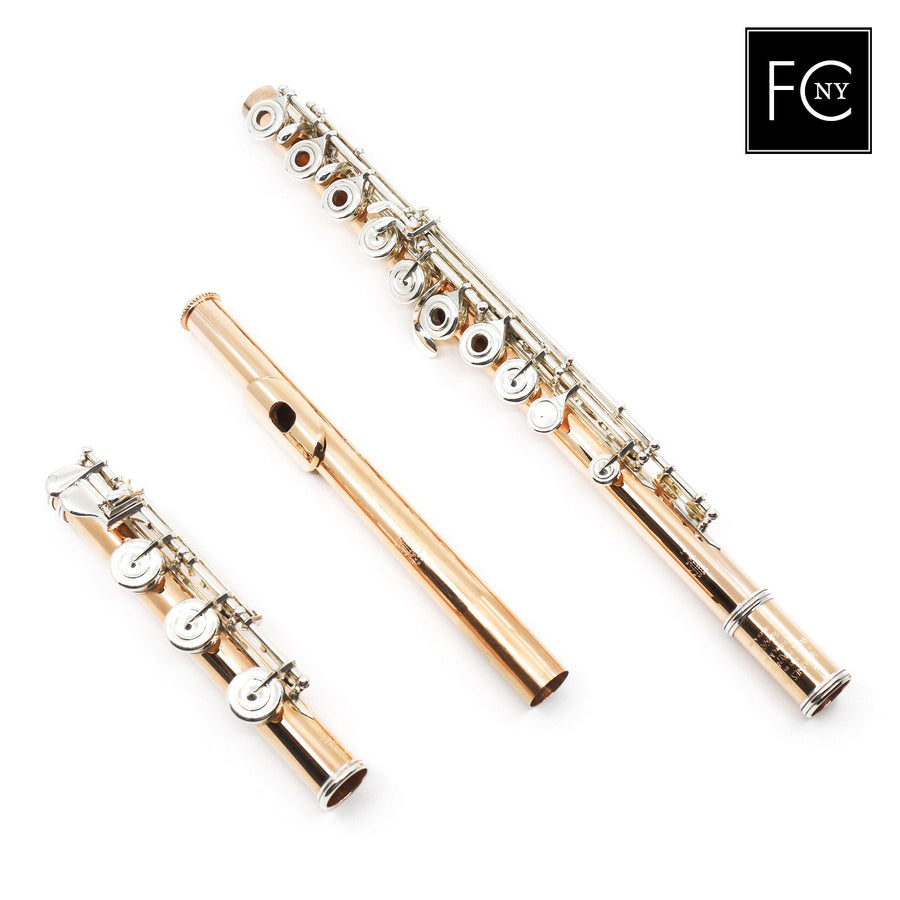 William S. Haynes Handmade Custom Flute in 10K Gold (New)