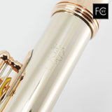 William S. Haynes Handmade Flute in 14K Gold with Gold Mechanism (New)