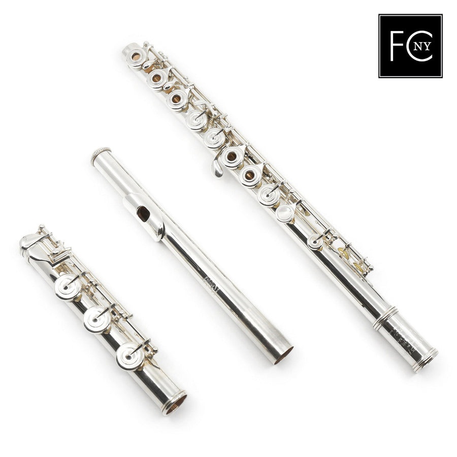 William S. Haynes Handmade Custom Flute in Fusion-Inside (New)