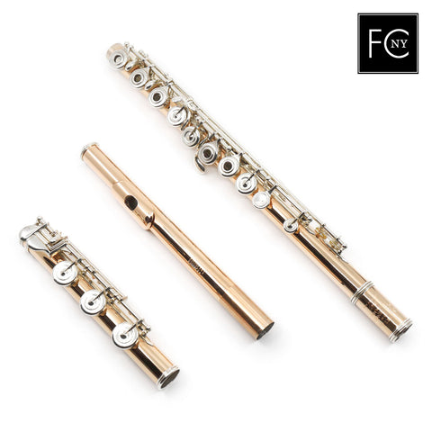 William S. Haynes Handmade Custom Flute in Fusion-Outside (New)