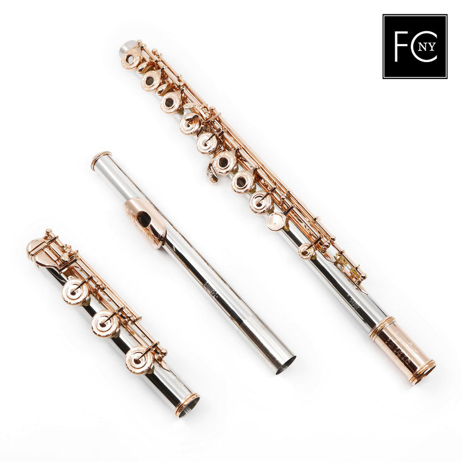 William S. Haynes Handmade Custom Flute in Platinum (New)