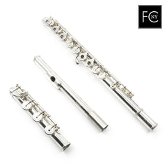 William S. Haynes Handmade Custom Flute in Silver, Drawn Tone Holes (New)