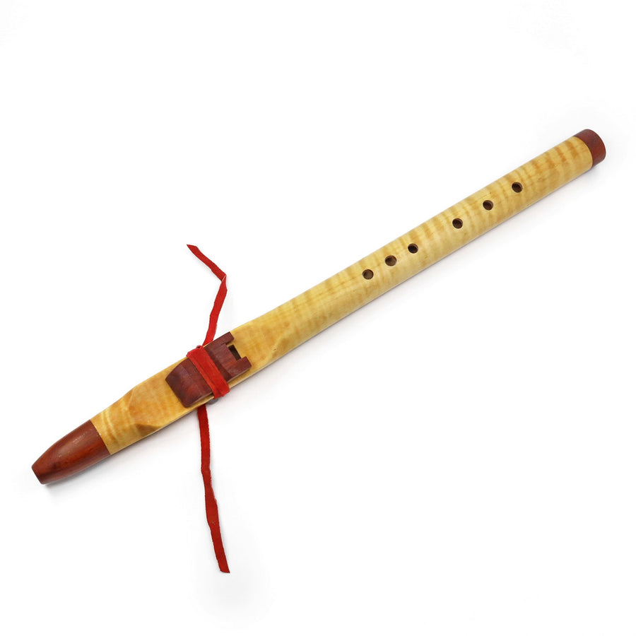 Inner Voice Native American Style Flute -  A4 Tiger Maple Padauk
