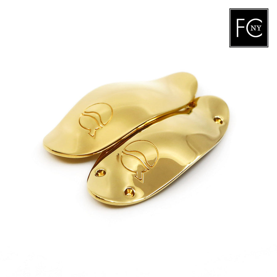 41mm Yellow Gold-Plated Solid Silver Lefreque Sound Bridge