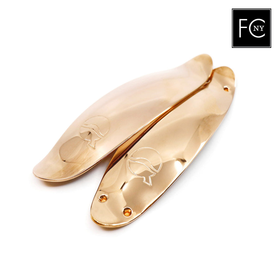 76mm Rose Gold-Plated Solid Silver Lefreque Sound Bridge