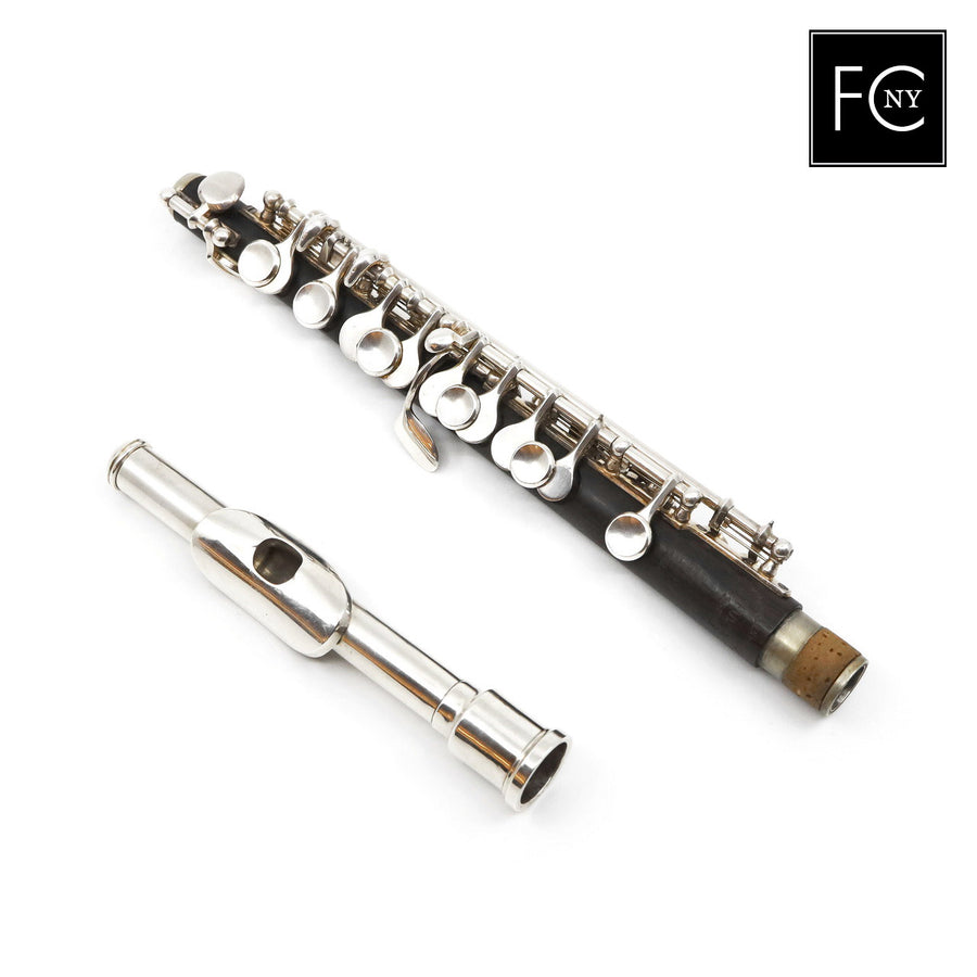 Mollenhauer Piccolo #FCNY5- Grenadilla wood body, silver headjoint