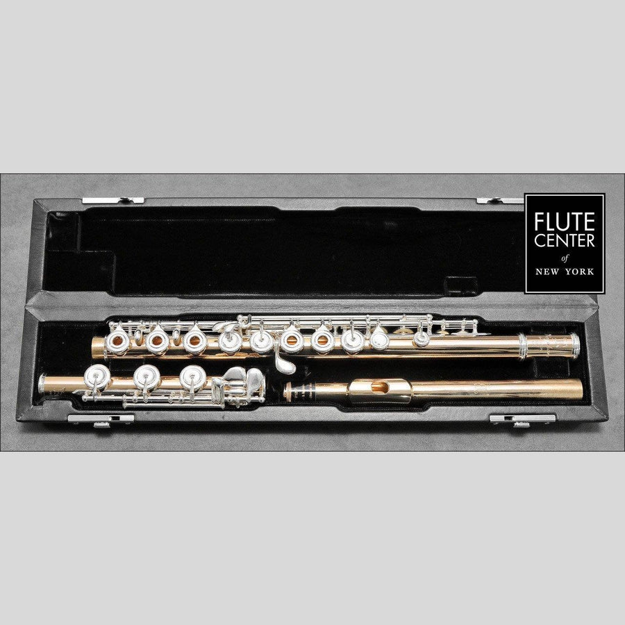 Nagahara Handmade Custom 18K Gold Flute with Silver Keys (New)