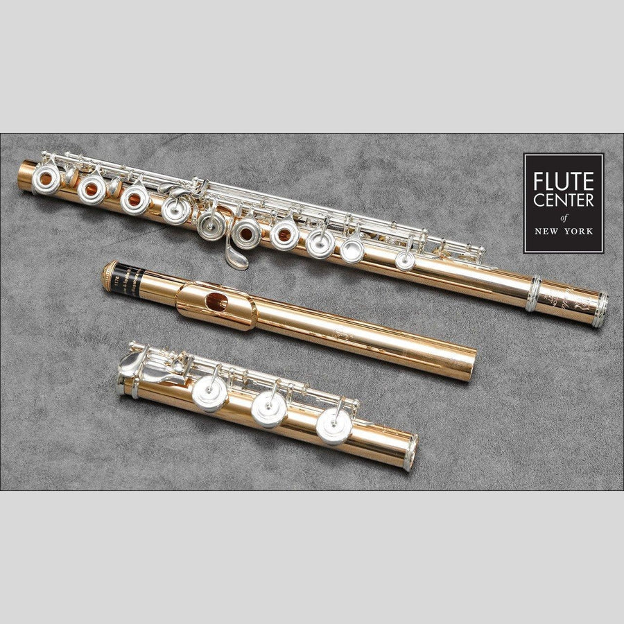 Nagahara Handmade Custom 16K Gold Flute with Silver Keys (New)