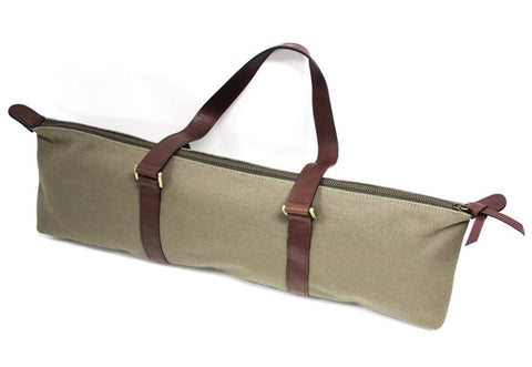 Fluterscooter Olive Canvas Bag