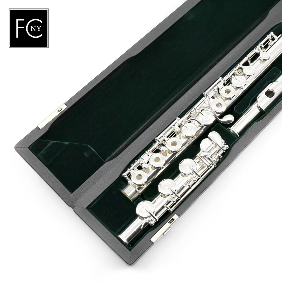 Pearl Quantz Series Flute Model 525RBE - Offset G, Split E Mechanism, B Footjoint (New)