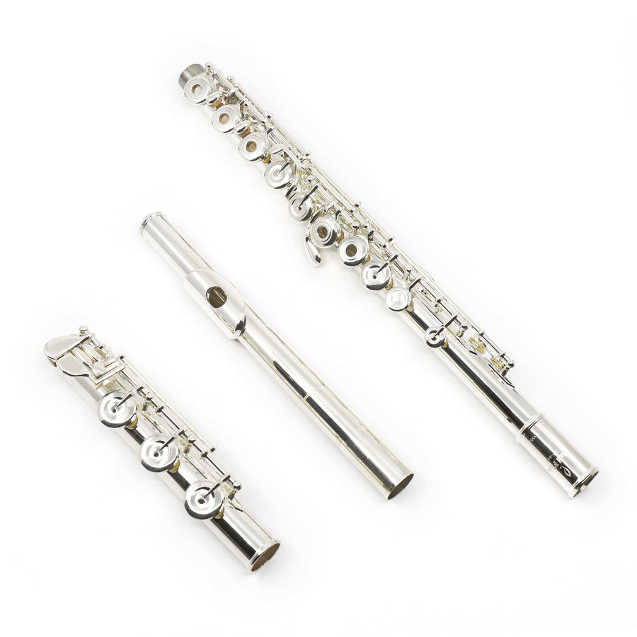 Pearl Quantz Series Flute Model 665RBE - Offset G, Split E Mechanism, B Footjoint (New)