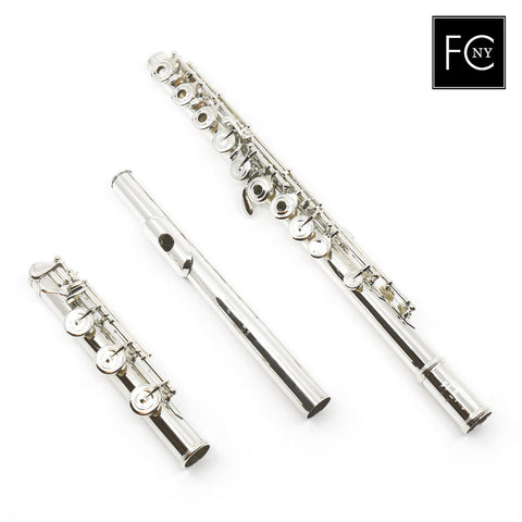 Pearl Handmade Flute Model 8800 in Sterling Silver (New)
