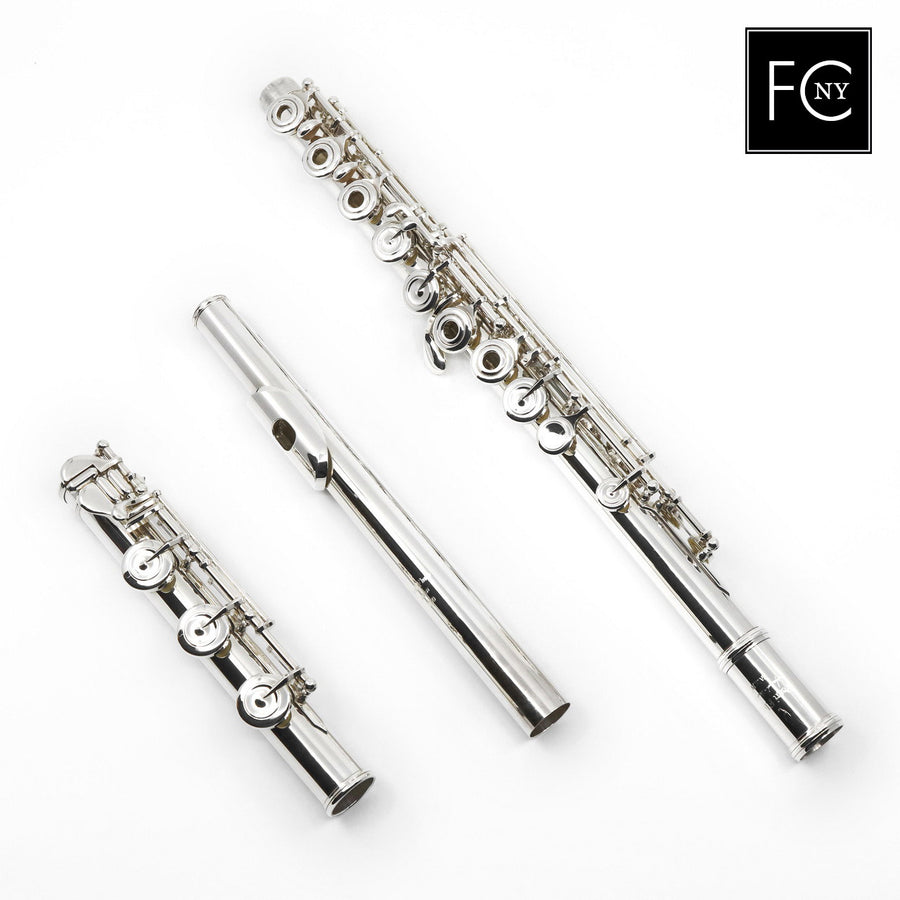 Pearl Handmade Flute Model 9800 in Sterling Silver (New)