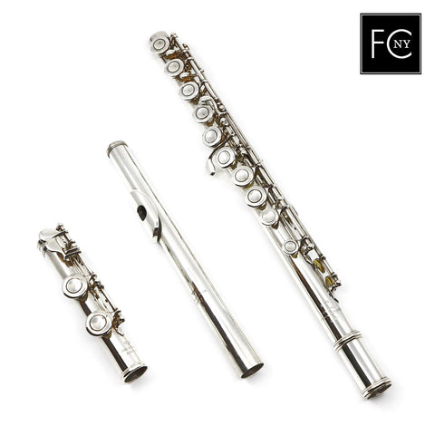 Powell Commercial Flute #1008 - all silver, offset G, C footjoint