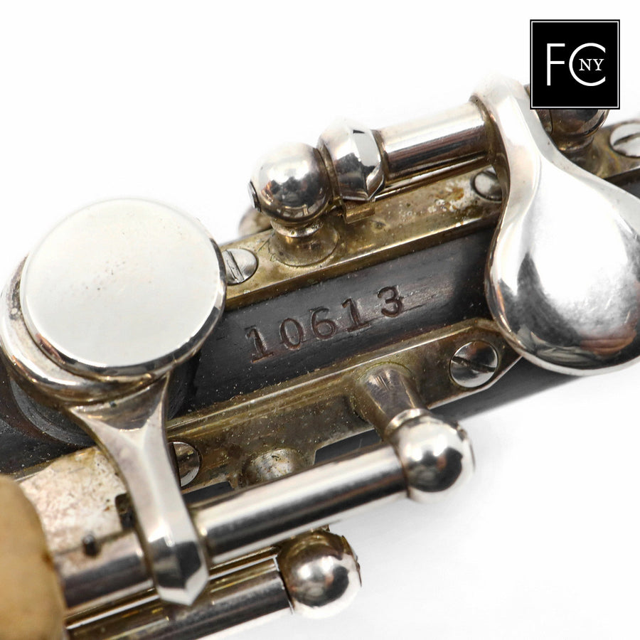 Powell Handmade Piccolo #10613 - grenadilla wood body, sterling silver mechanism