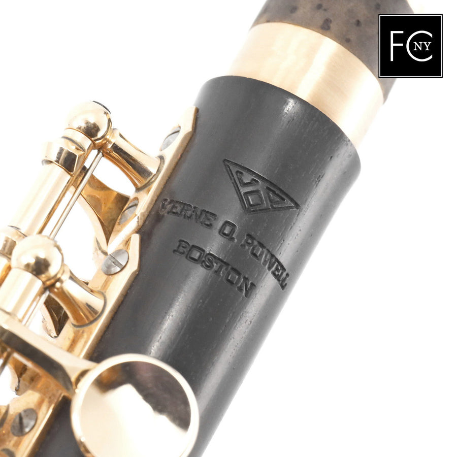 Powell Custom 14K Grenadilla piccolo (New)