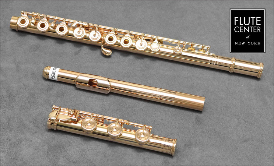 Verne Q. Powell Handmade Custom Flute in 19.5K Gold with Gold Mechanism (New)