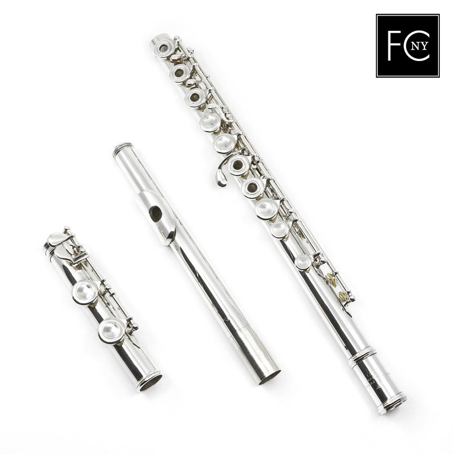Powell Commercial Flute #3221 - Silver Flute, inline G, C footjoint