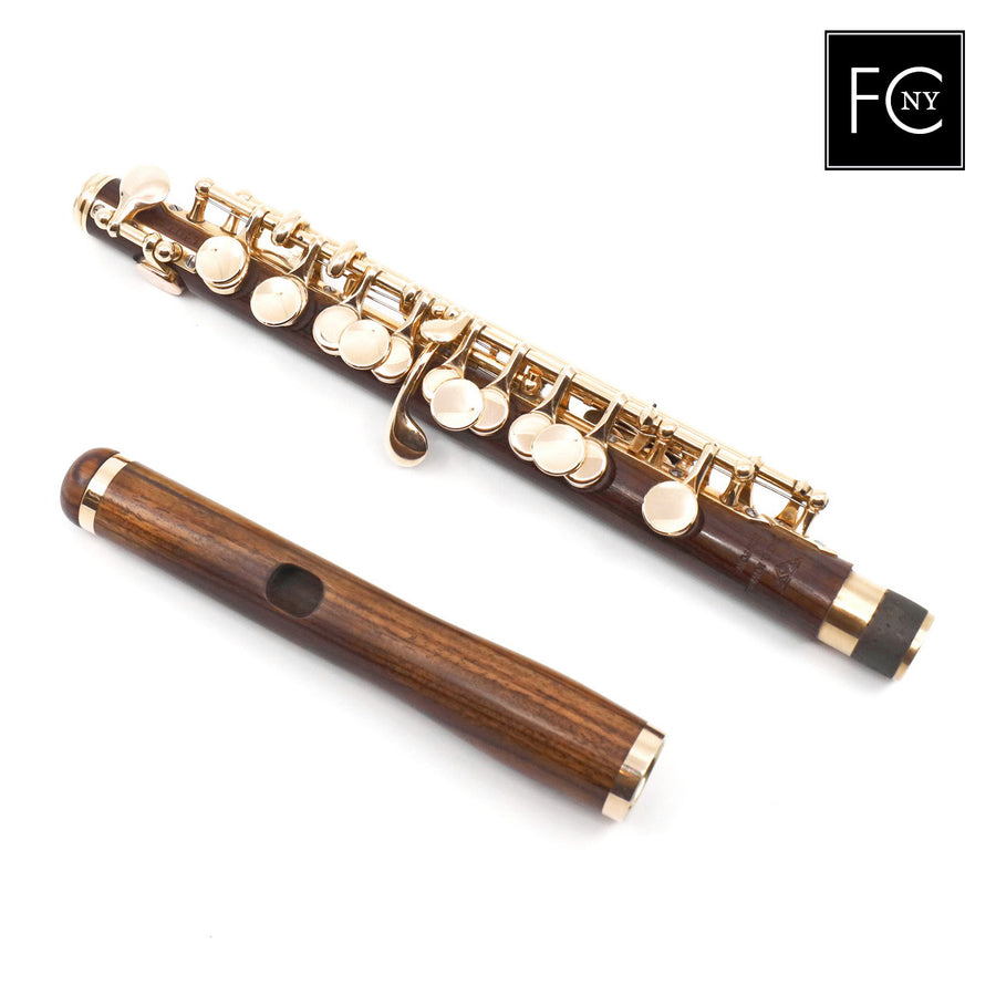 Powell Custom 14K Kingwood piccolo (New)