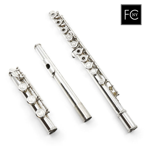 Powell Commercial Flute #2133 - all silver, inline G, B footjoint