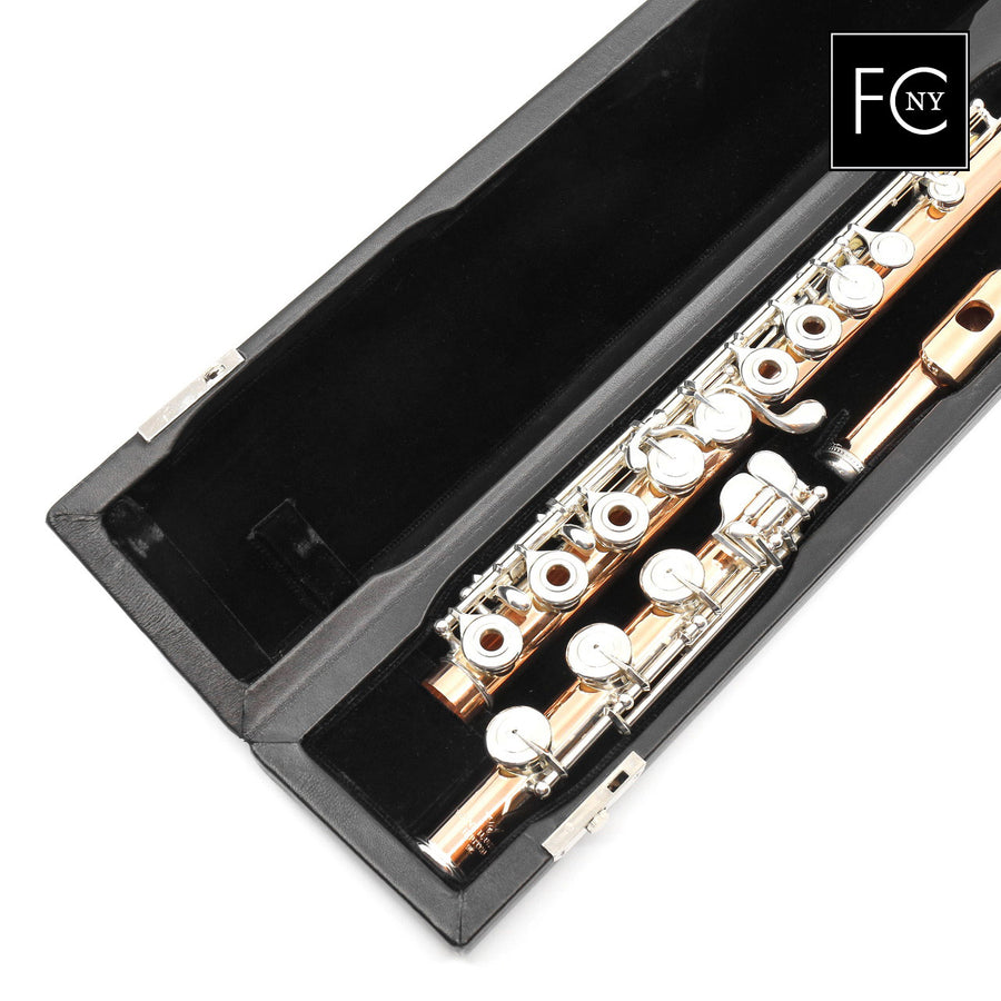 Verne Q. Powell Handmade Custom Flute in 9K Rose Gold (New)